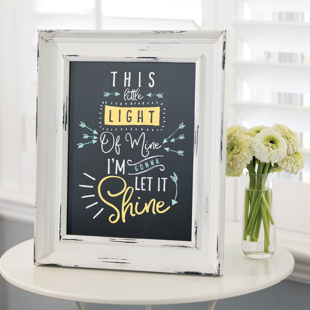 watts of love- this little light of min- chalk couture stencil - jana zuercher - that chalky gal