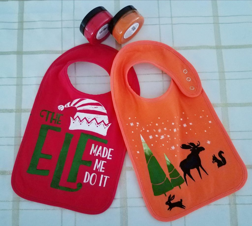 DIY Baby Bibs - The Elf Made Me Do It
