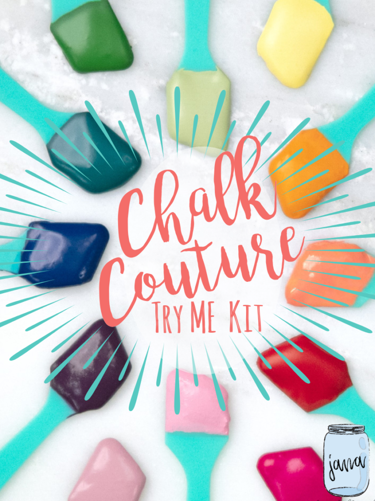 chalk couture try me kit