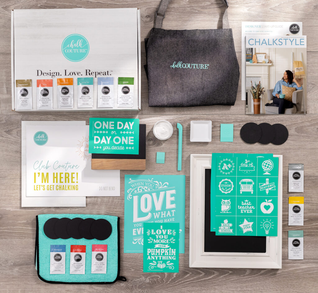 chalk couture new designer starter kit - that chalky gal - talk chalky to me blog